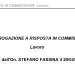 Onorevole Stefano Fassina deposita interrogazione in Commissione lavoro per Cassa di Previdenza dei Geometri ex Cipag